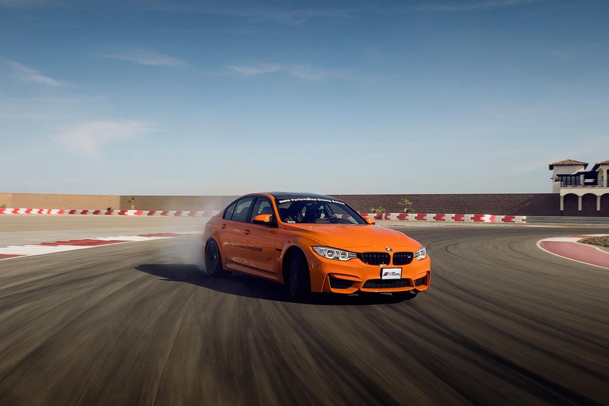 BMW M School - Orange M3
