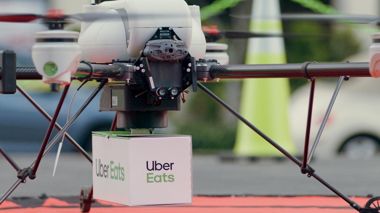 Uber Eats - Drone Delivery