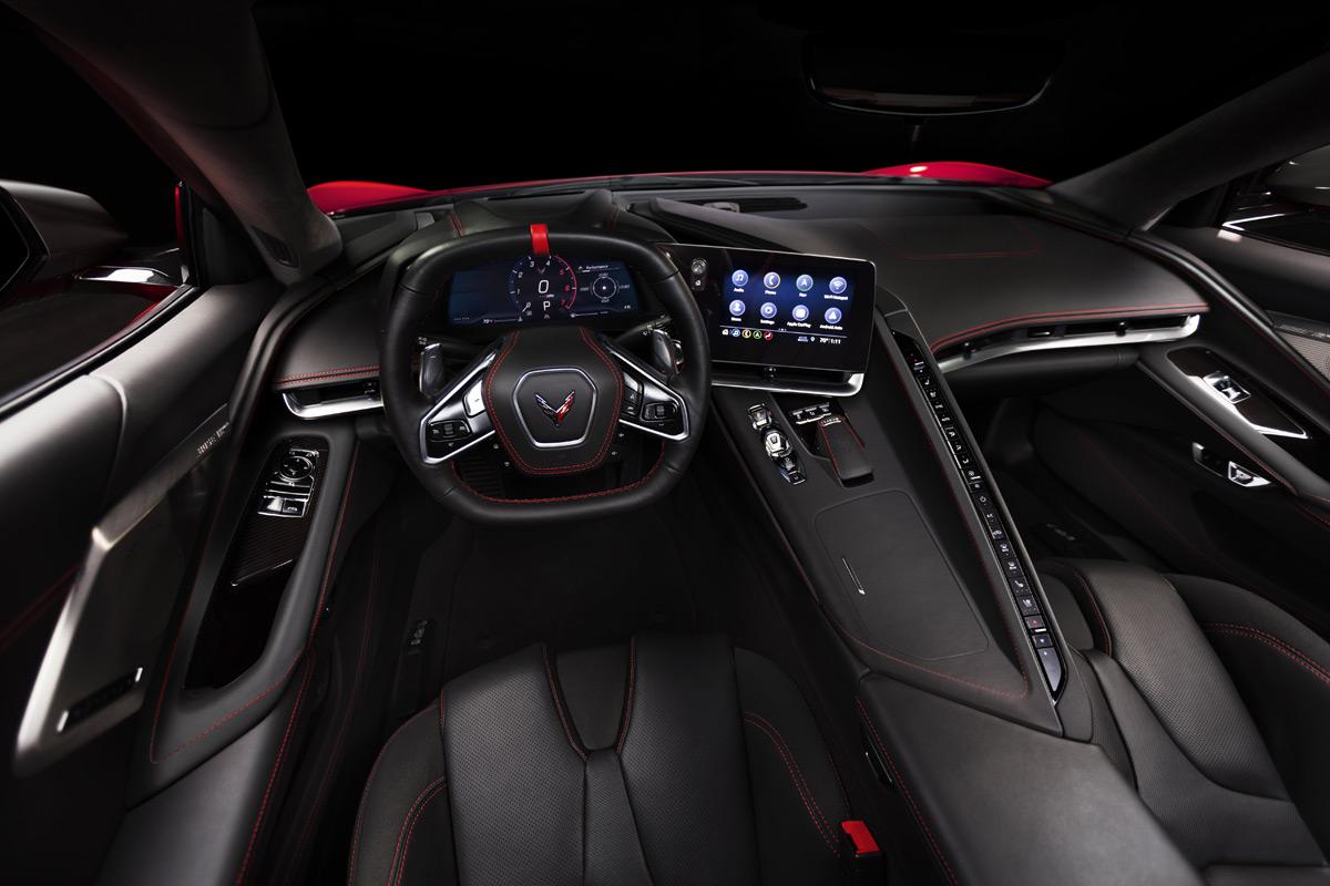 2020 Chevrolet Corvette Stingray C8 interior