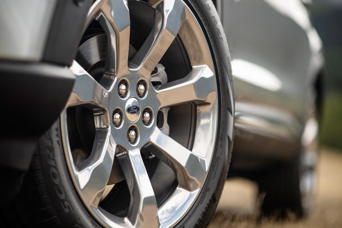 2020 Ford Explorer Wheels