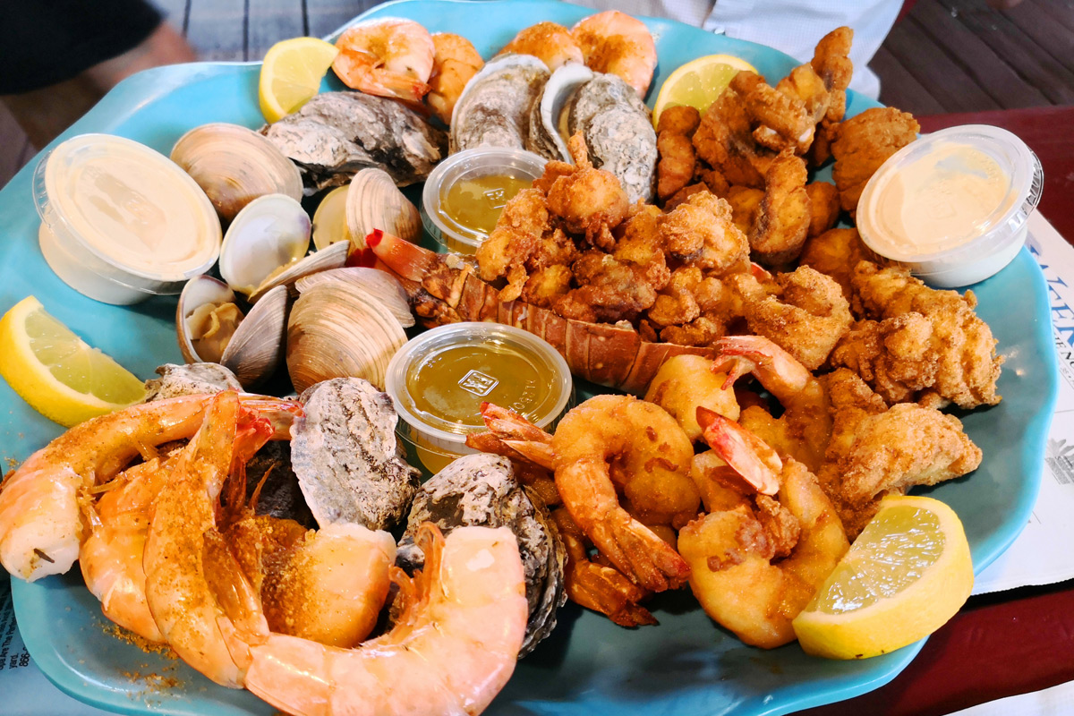 Peace River Seafood in Punta Gorda, Florida