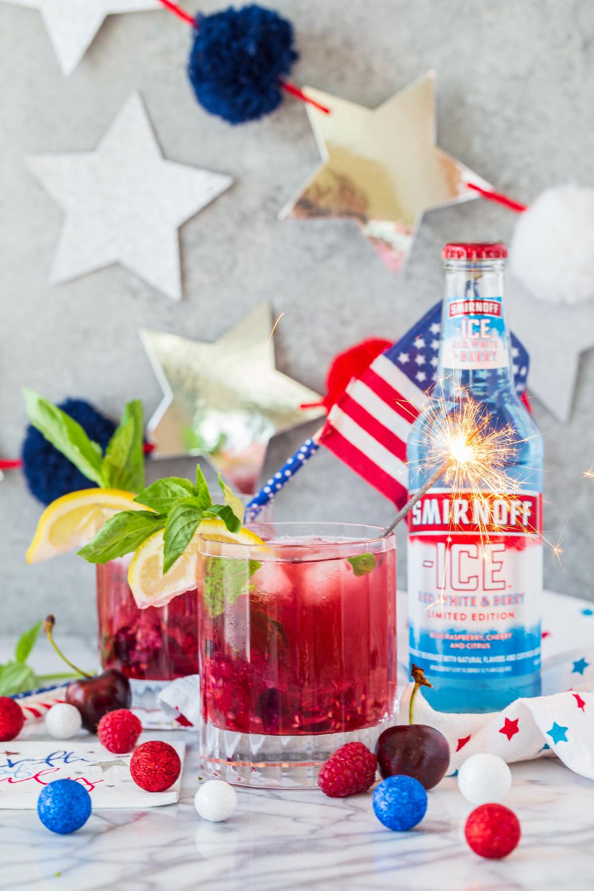 Smirnoff Americana Faux-Jito
