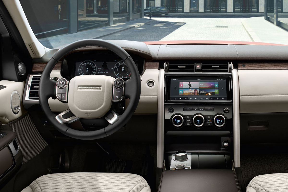 2019 Land Rover Discovery HSE Interior
