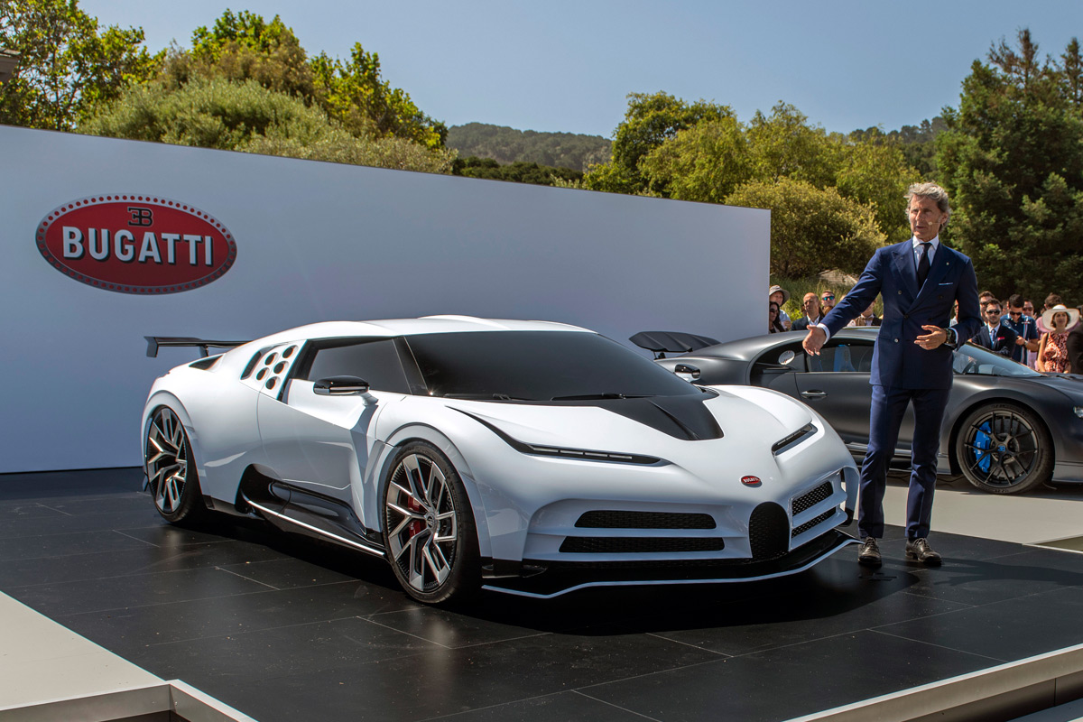 Bugatti Centodieci at Pebble Beach