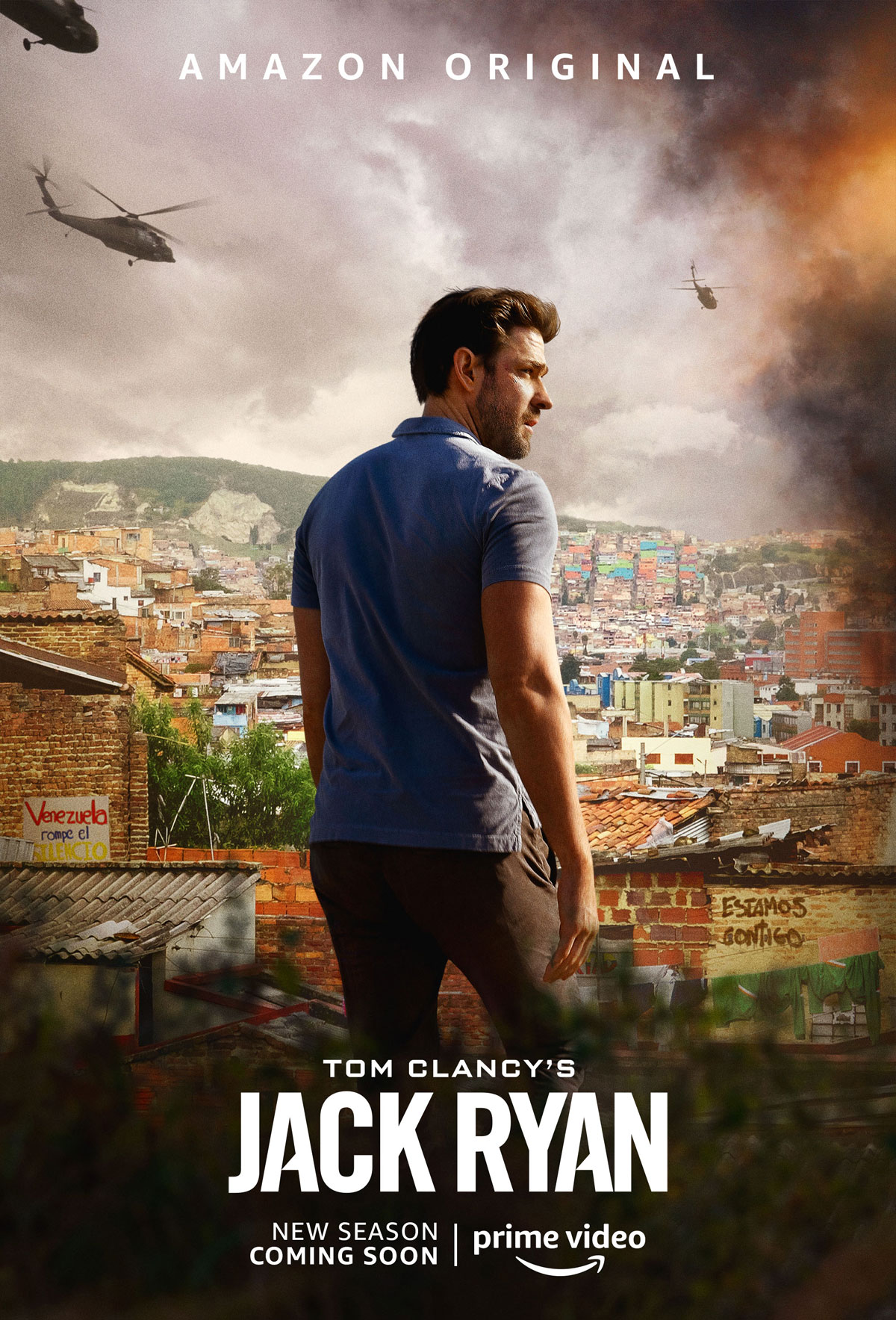 Tom Clancy's Jack Ryan Season 2 Poster