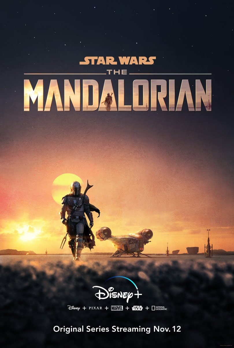 Star Wars - The Mandalorian poster