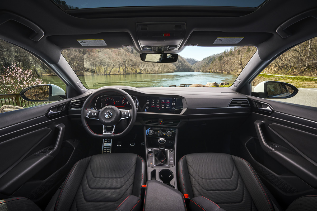 2019 Jetta GLI 35th Anniversary Edition interior
