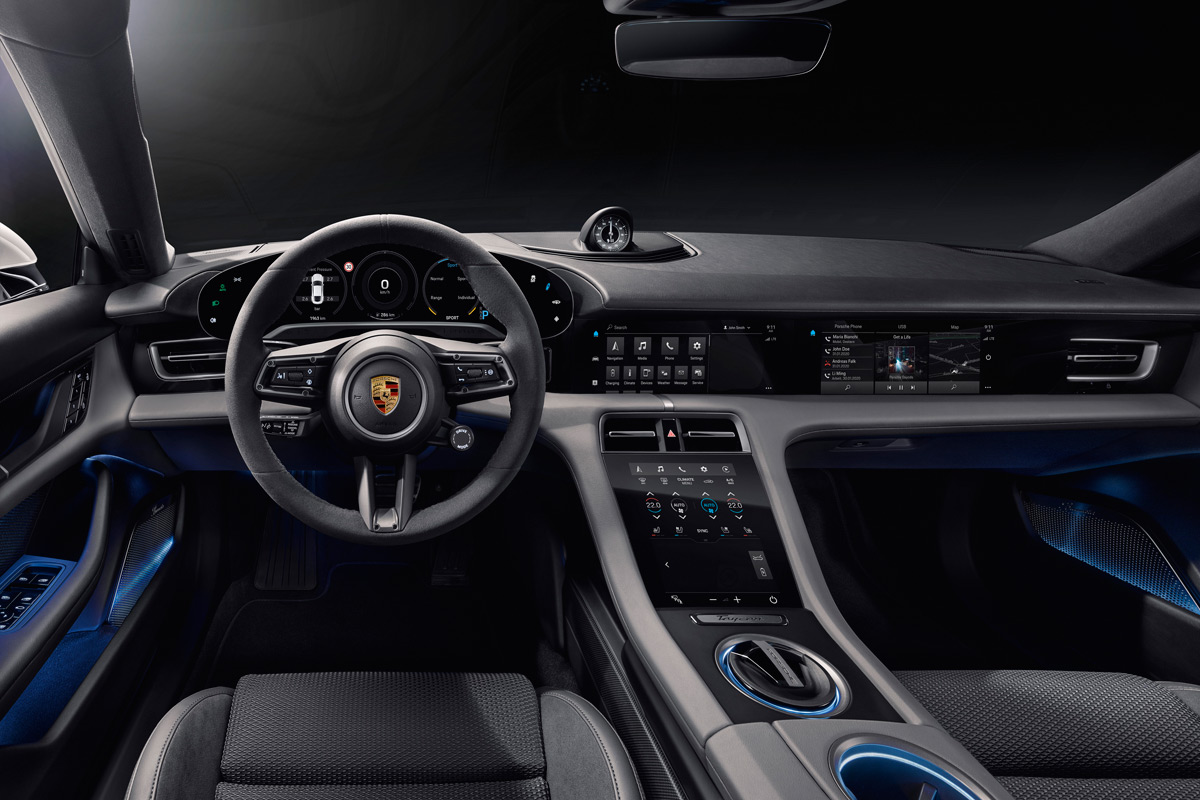 Porsche Taycan Turbo Interior