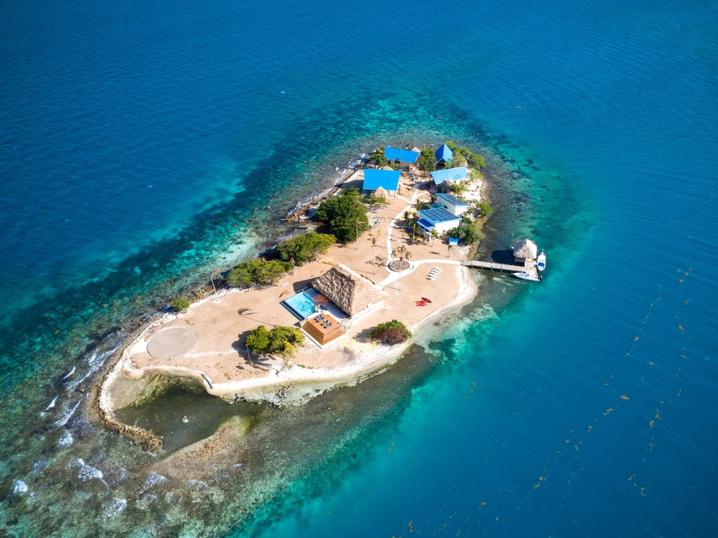 Kanu Private Island in Belize