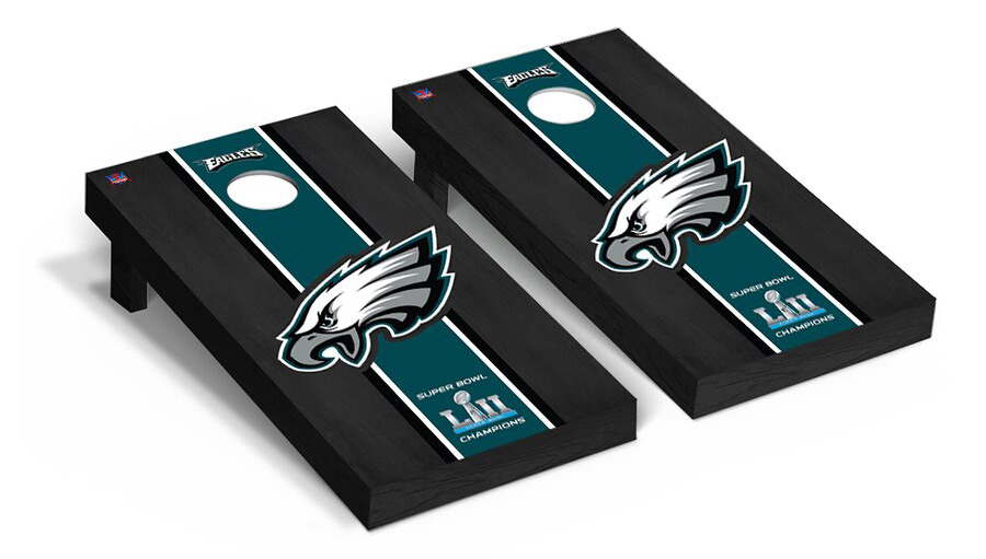 Philadelphia Eagles Super Bowl LII Champions Regulation Cornhole Set