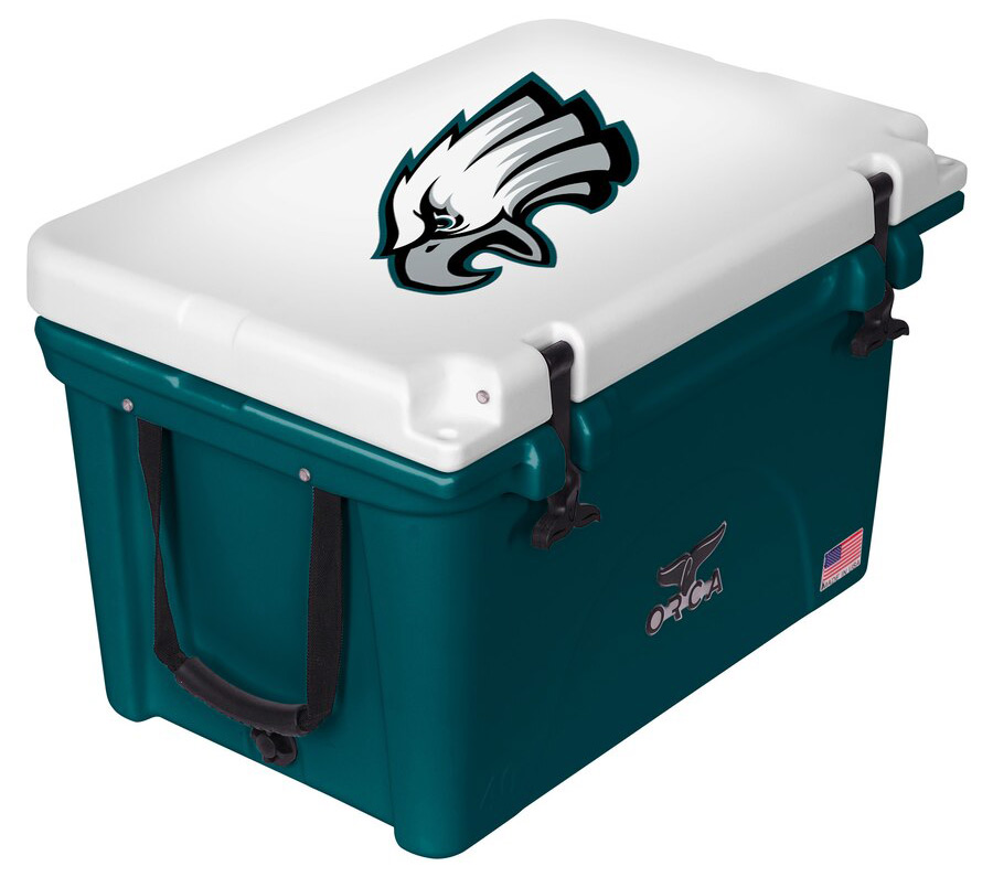 Philadelphia Eagles ORCA Midnight Green/White 40-Quart Hard-Sided Cooler