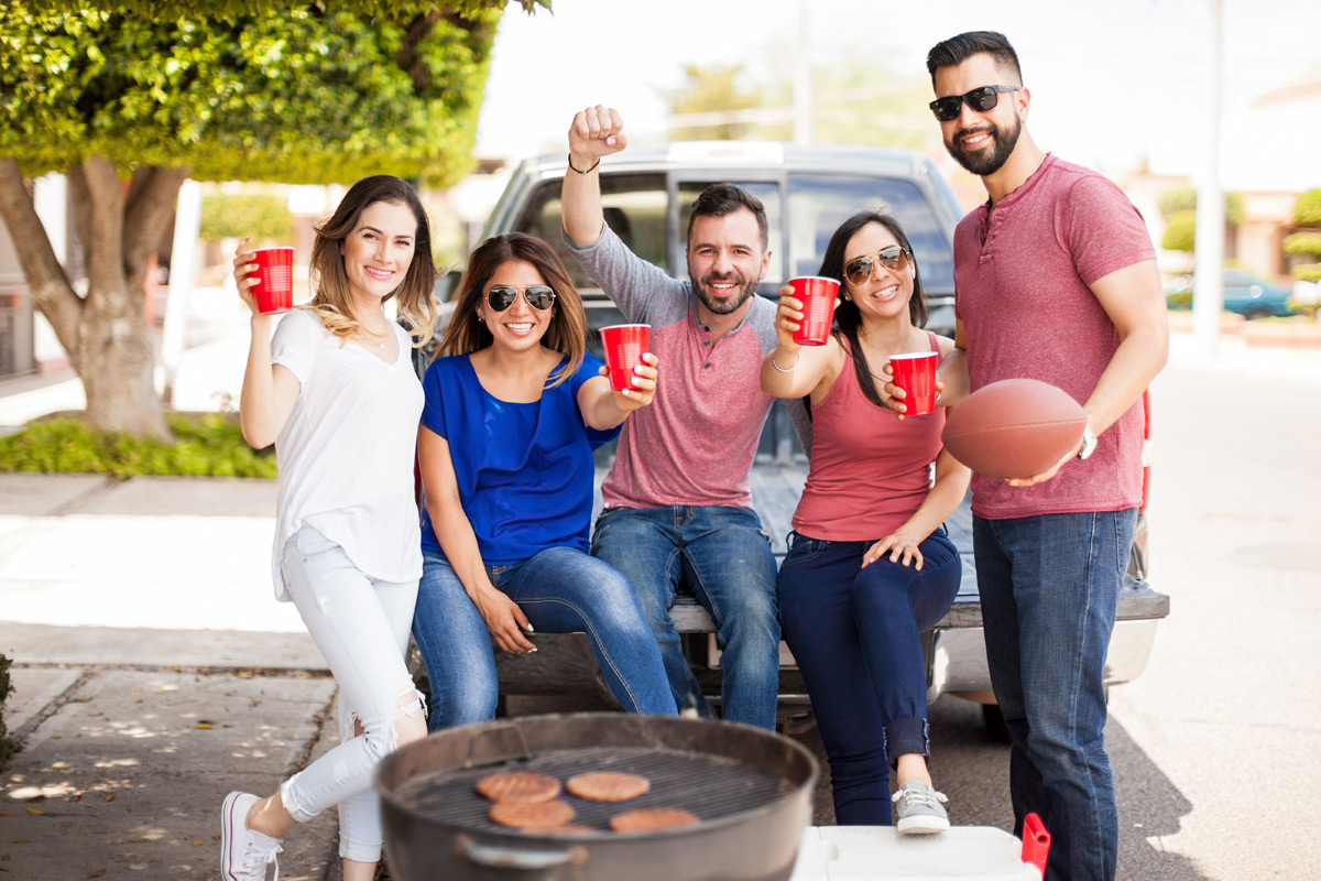 Tailgating At A Football Game