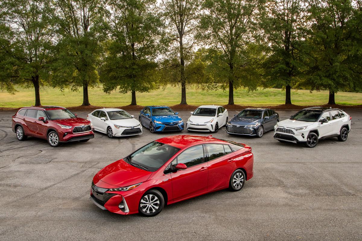 Toyota e-volution lineup
