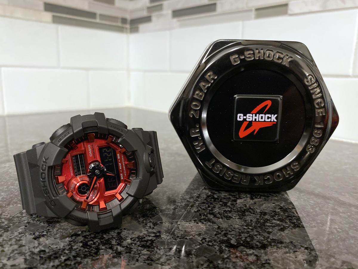 Casio G-SHOCK GA700AR-1A