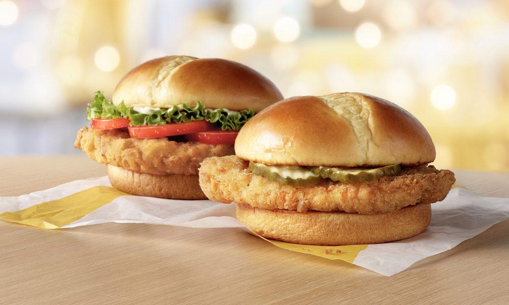 McDonald's New Chicken Sandwiches
