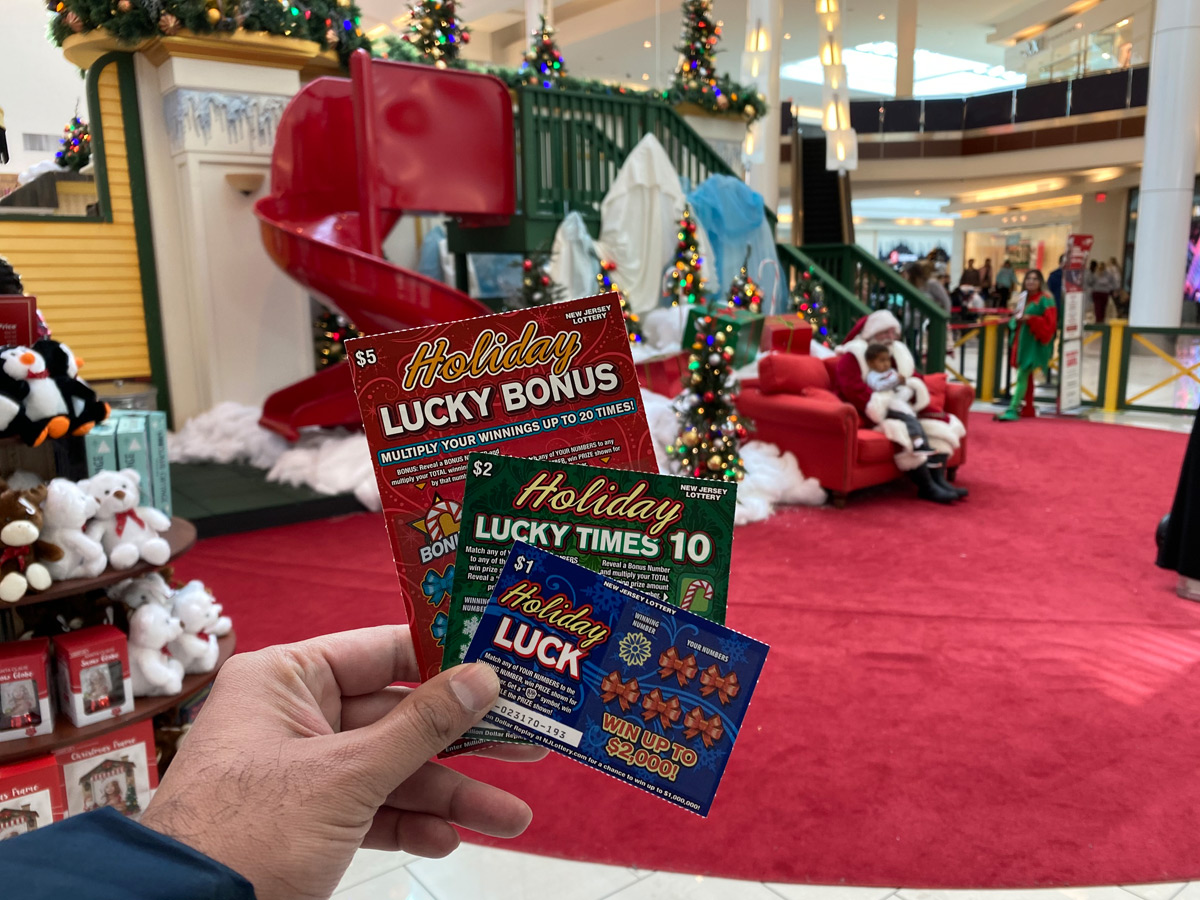New Jersey Lottery Holiday Scratch-Offs