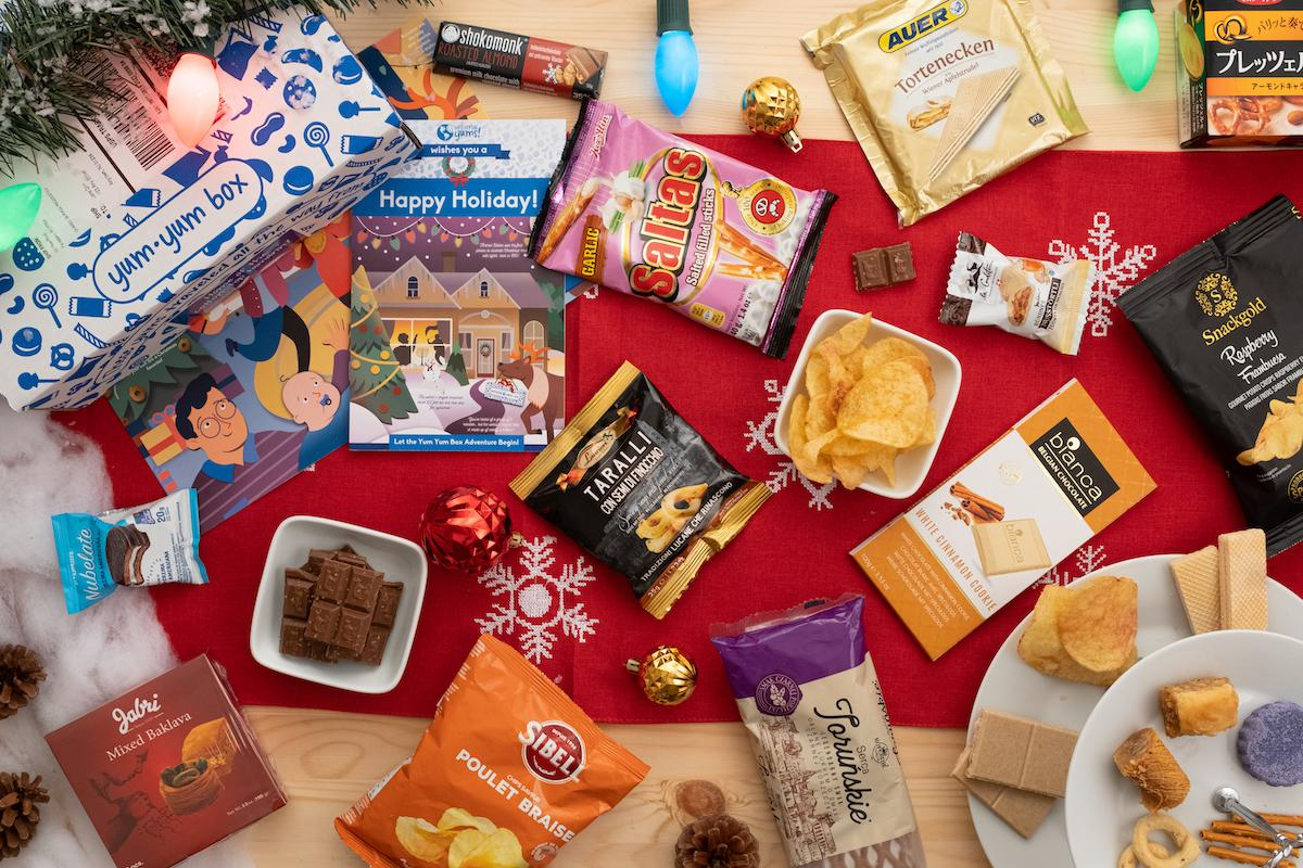 Universal Yums Holiday Box