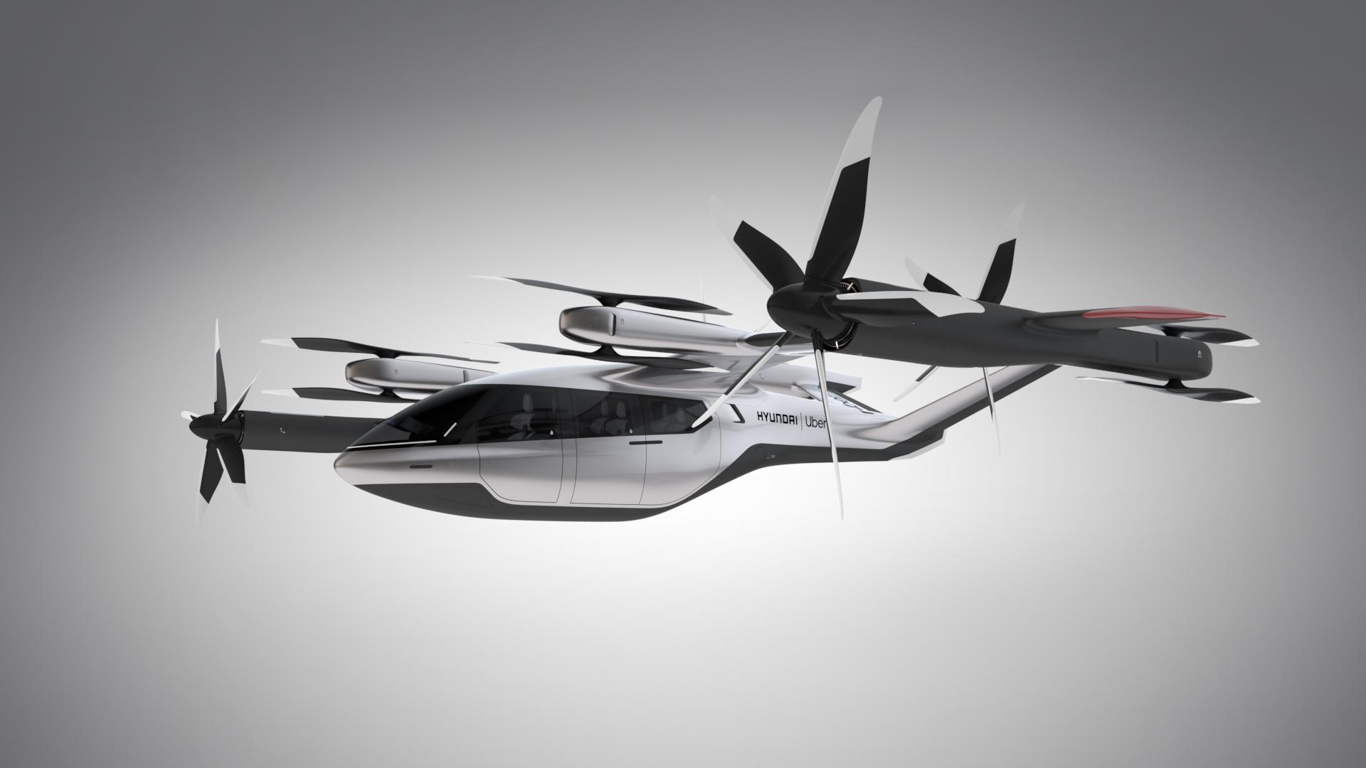 Uber Air / Hyundai S-A1 Air Taxi Concept