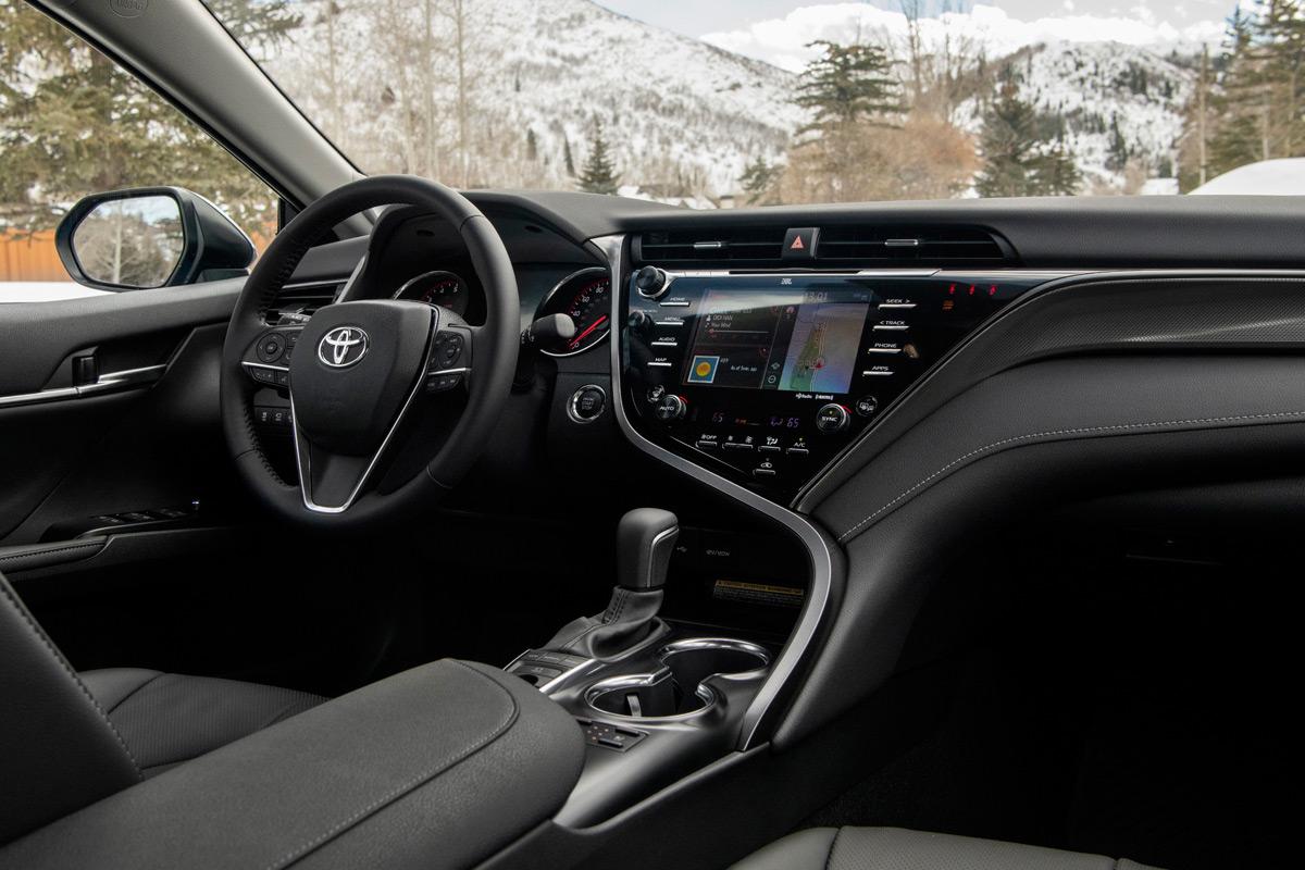 2020 Toyota Camry AWD interior