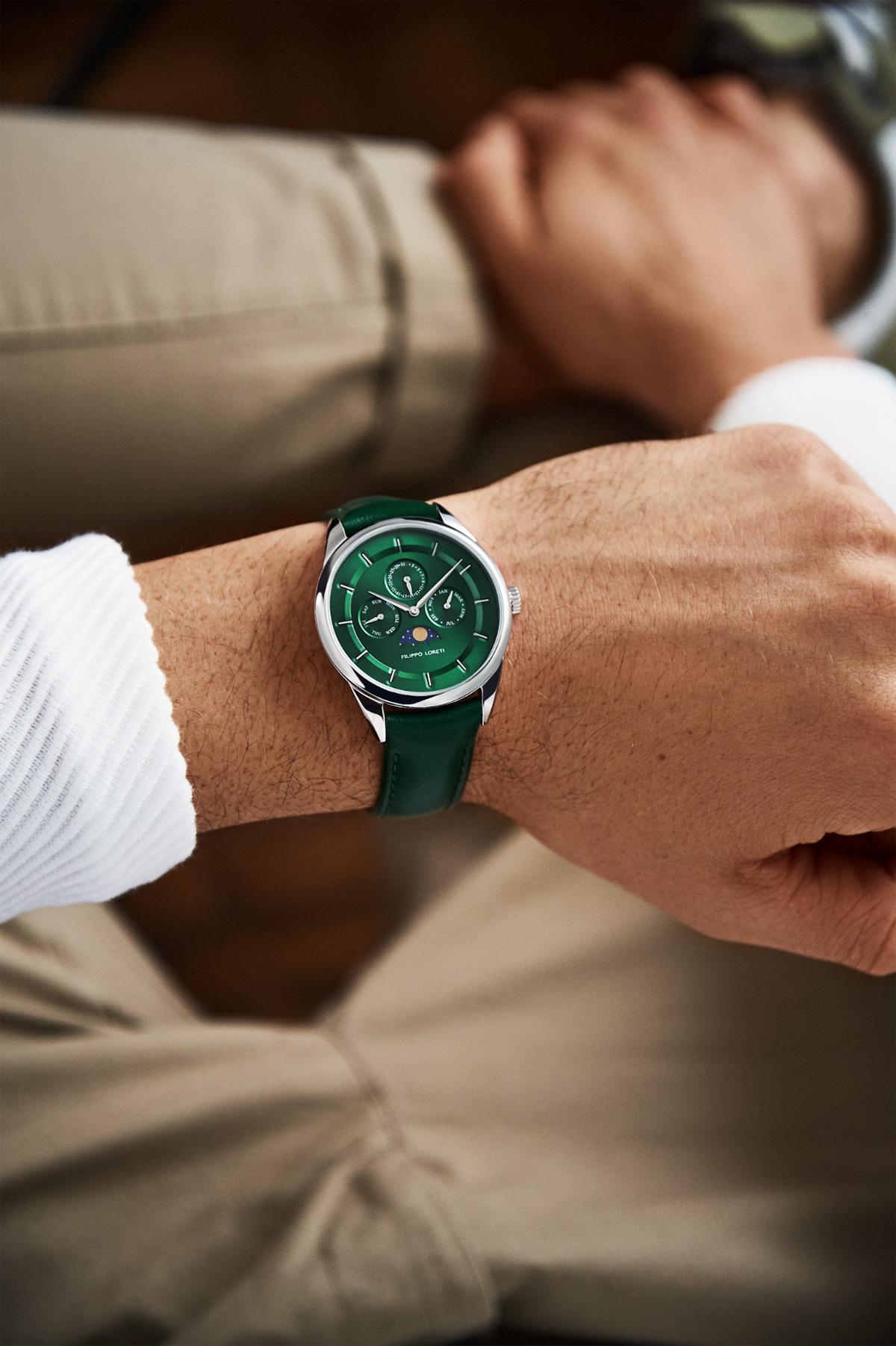 Filippo Loreti Leather Watches