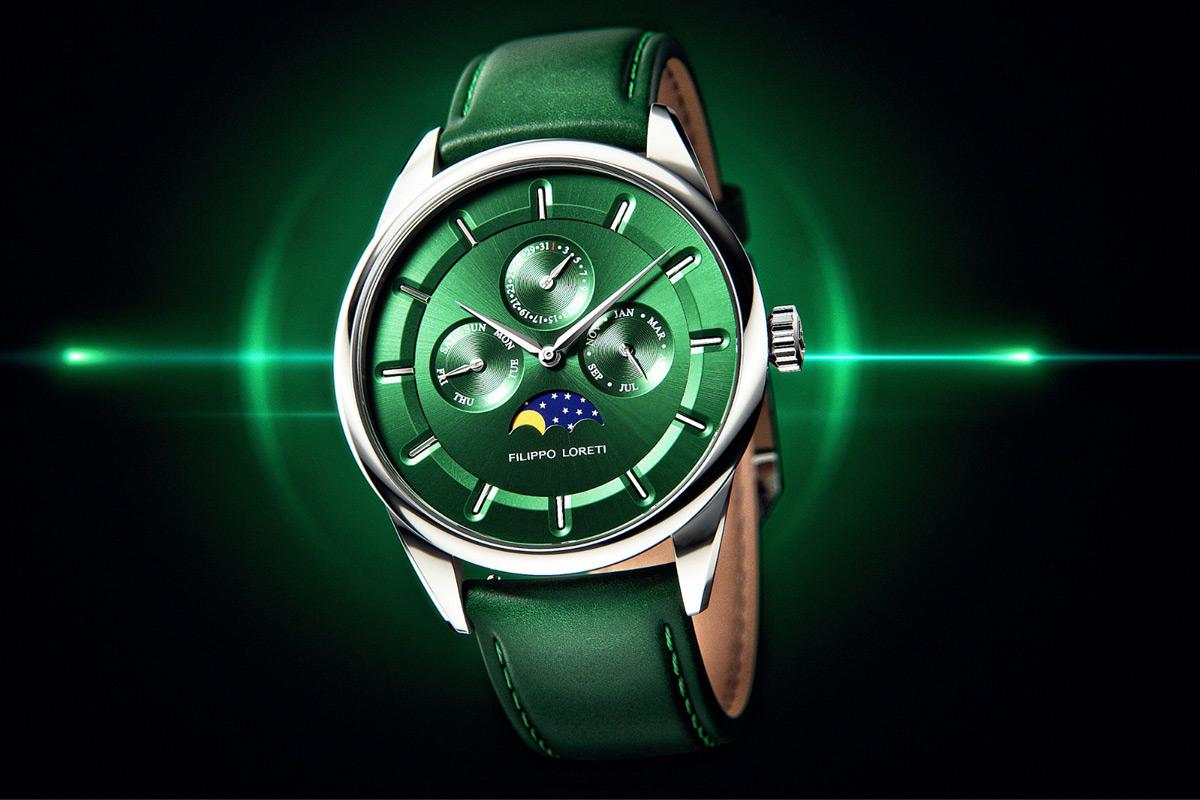 Filippo Loreti Venice Moonphase Emerald
