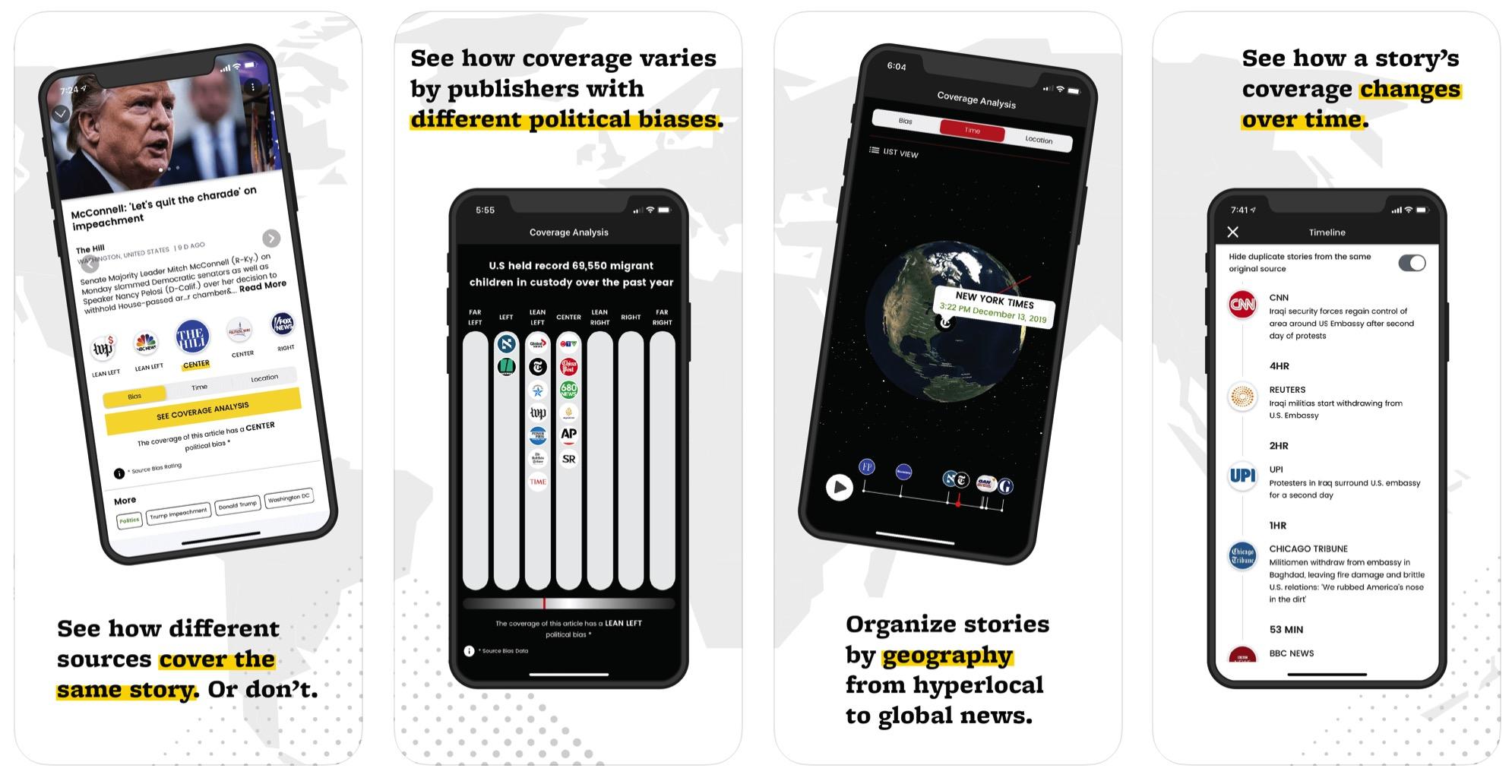 Ground News Pro app