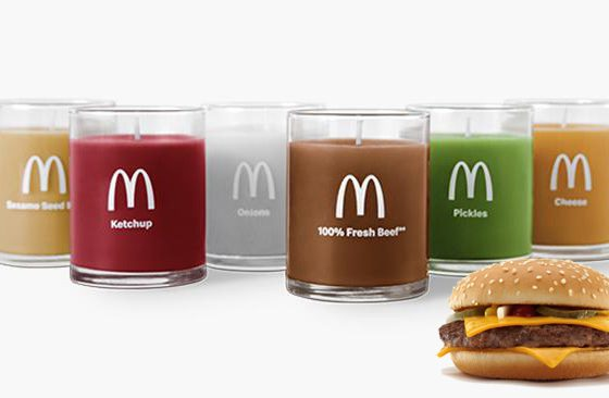 McDonald's Quarter Pounder Scented Candle Pack