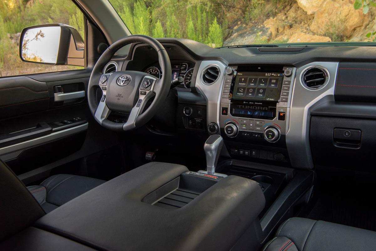 2020 Toyota Tundra TRD Pro interior