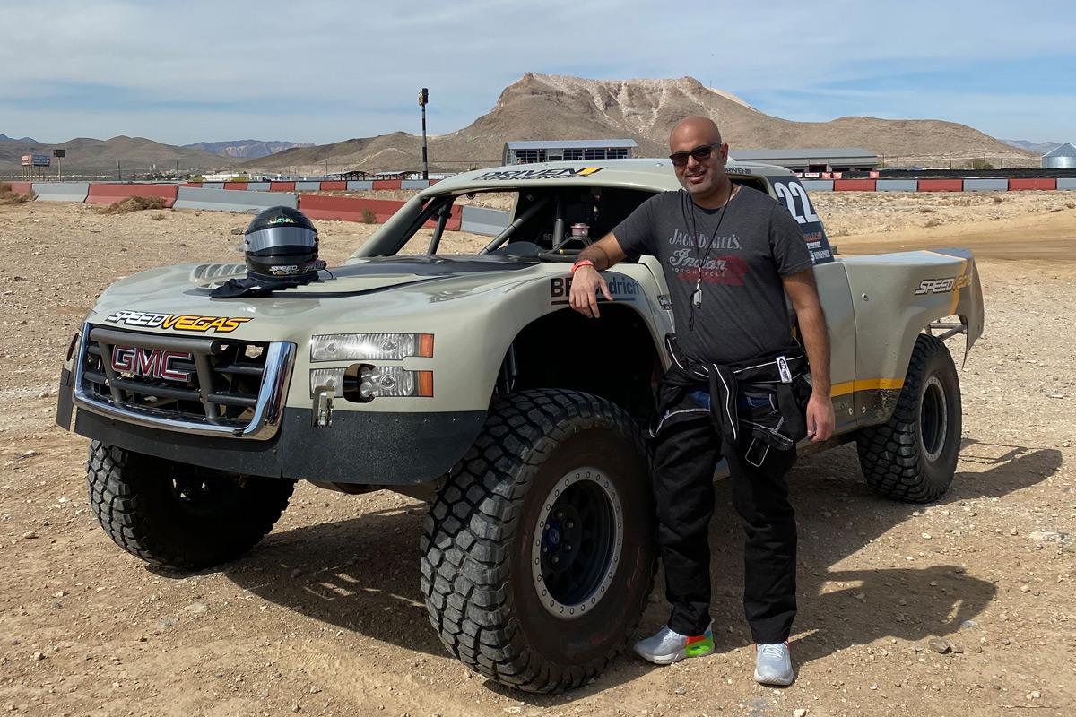 SpeedVegas Trophy Truck drive experience