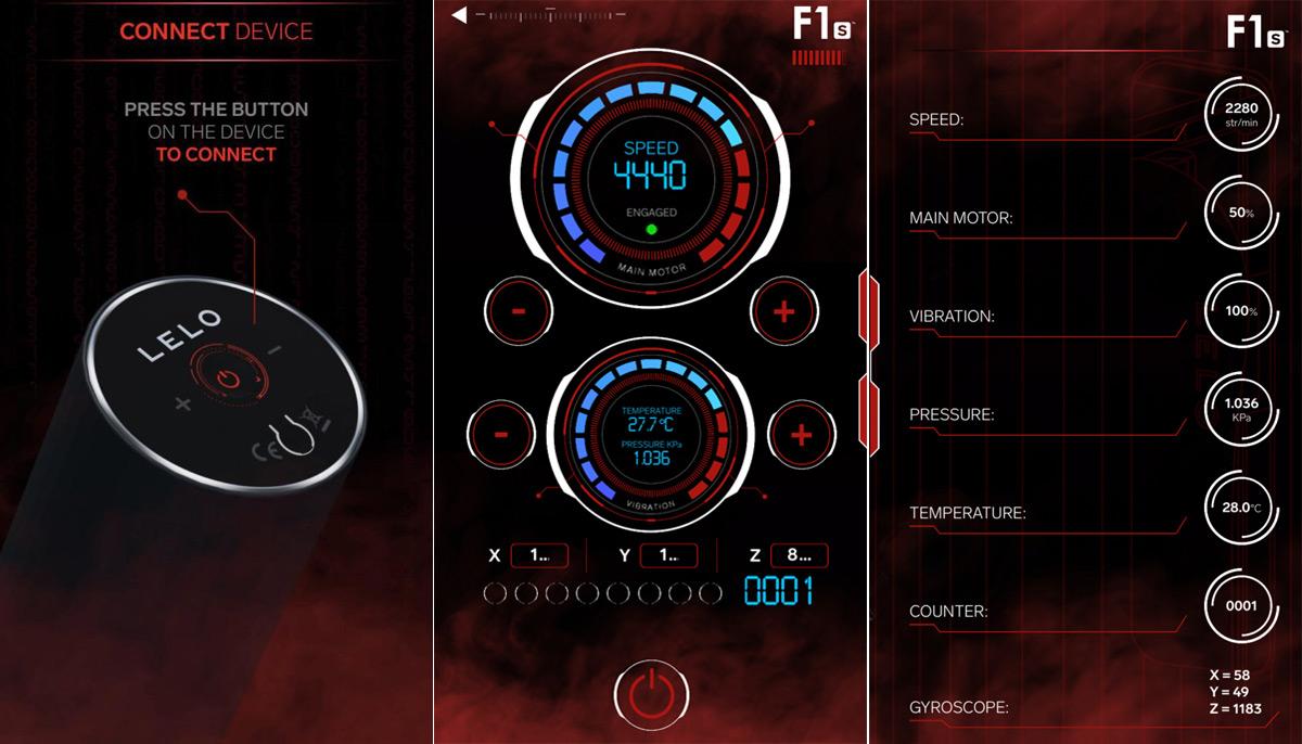LELO F1s Developers Kit Red app