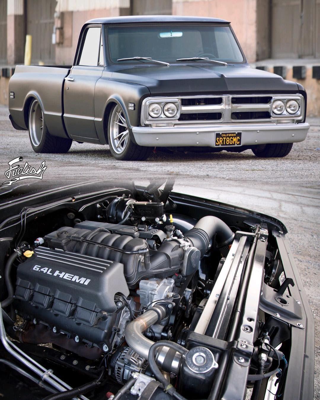 745HP Hellcat-Powered Chevy C10 Pickup