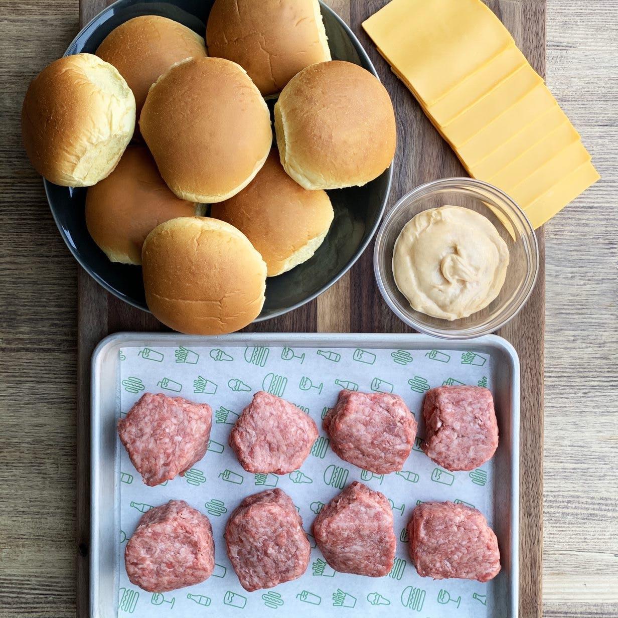 Shake Shack DIY Shackburger Kit