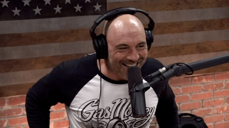 Joe Rogan Doing Podcast