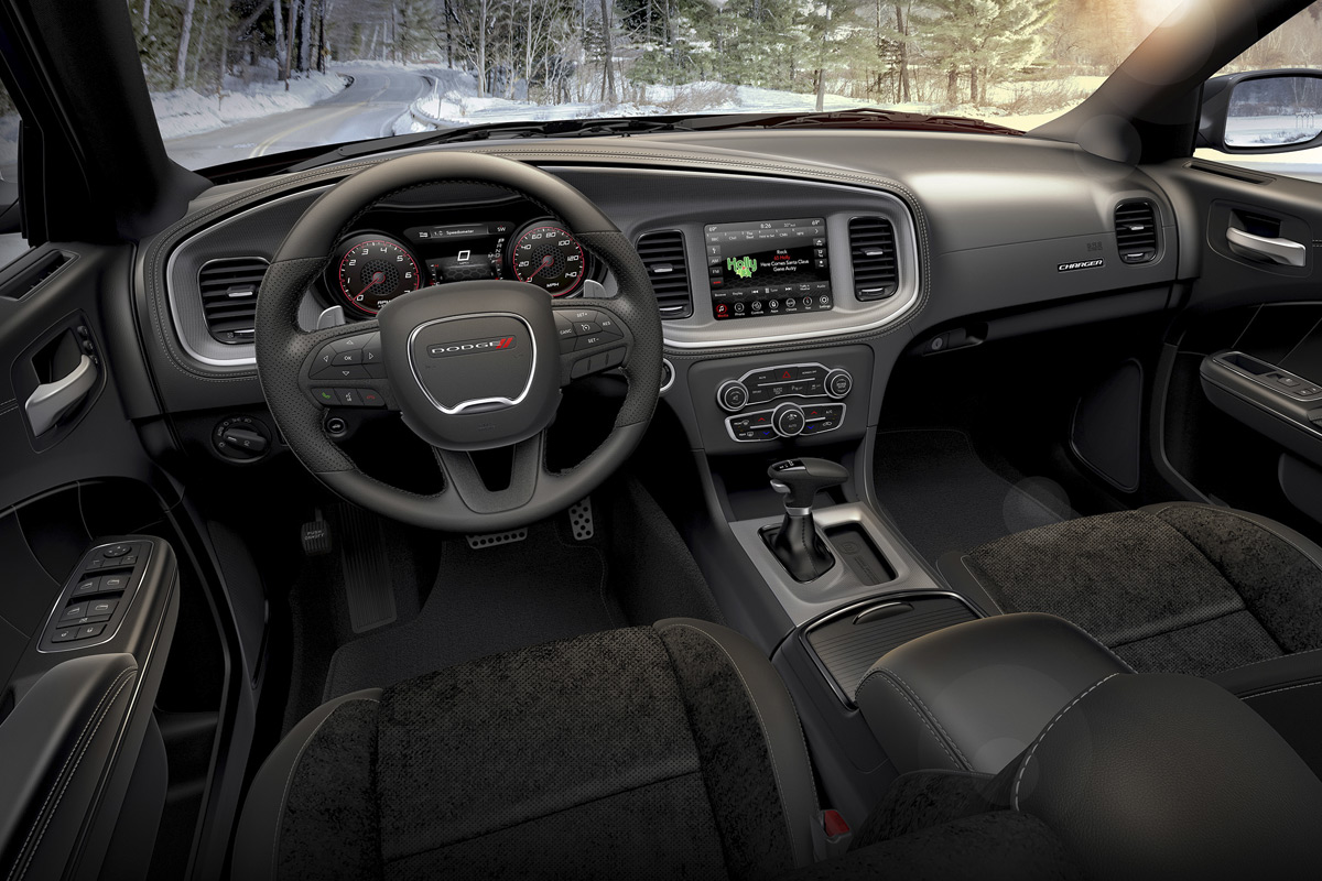 2020 Dodge Charger GT AWD interior