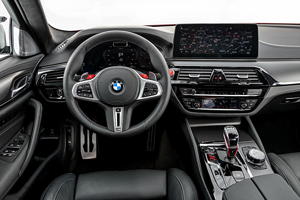 2021 BMW M5 Sedan interior