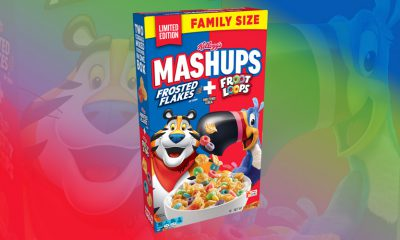 Kellogg's Mashups Frosted Flakes + Froot Loops