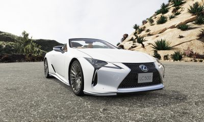 Lexus LC With TRD Parts