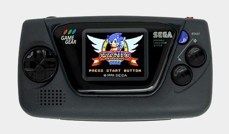 SEGA Game Gear Micro - Black