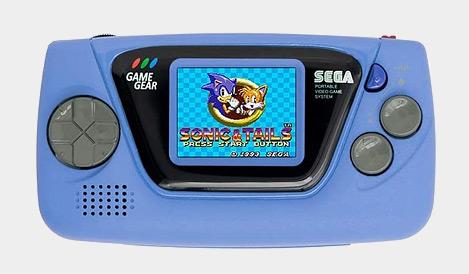 SEGA Game Gear Micro - Blue
