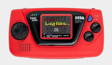 SEGA Game Gear Micro - Red