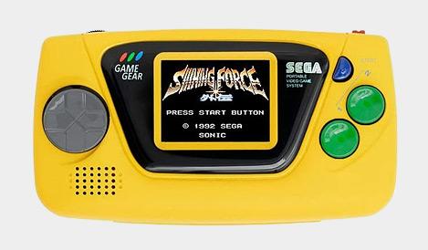 SEGA Game Gear Micro - Yellow