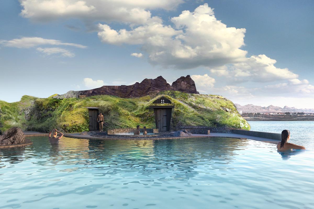 Sky Lagoon - Entrance to The Ritual