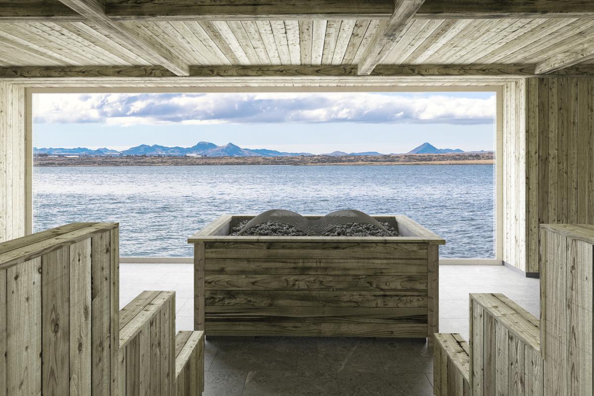 Sky Lagoon - Oceanfront Sauna