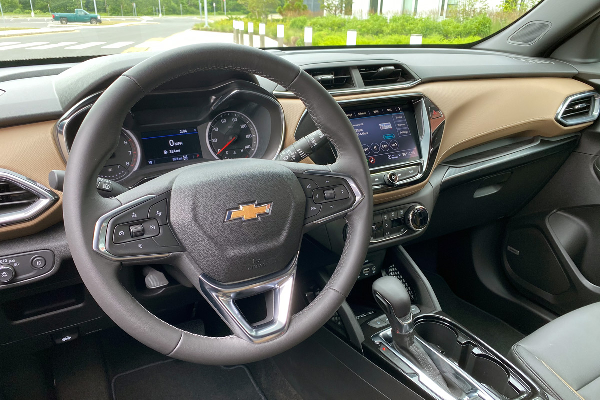 2021 Chevrolet Trailblazer ACTIV AWD interior