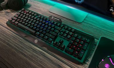 IOGear HVER PRO X RGB Optical-Mechanical Gaming Keyboard