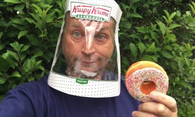Krispy Kreme Face Shield