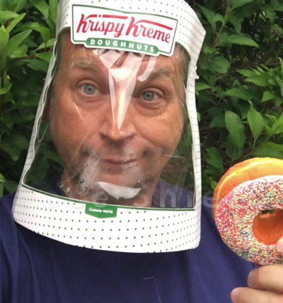 Krispy Kreme Face Shield