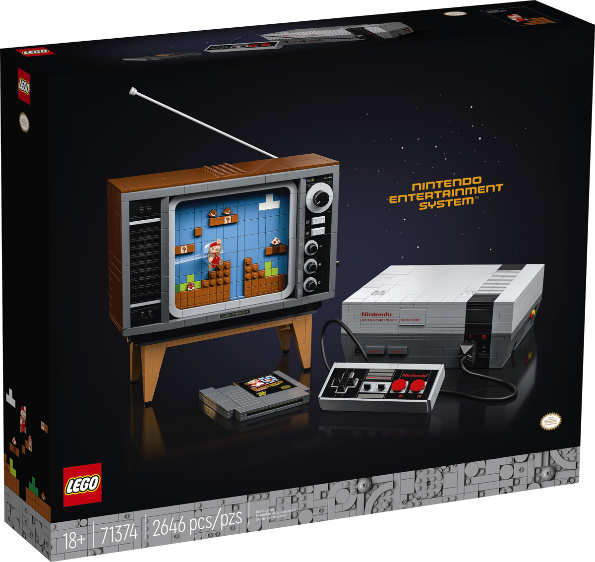 LEGO Nintendo Entertainment System Building Kit