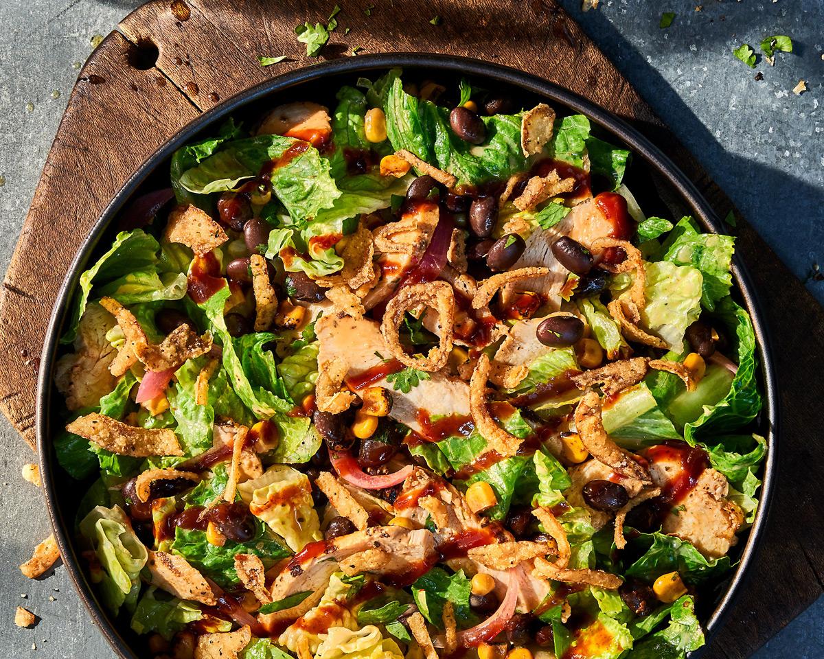 Panera Bread - BBQ Chicken Salad