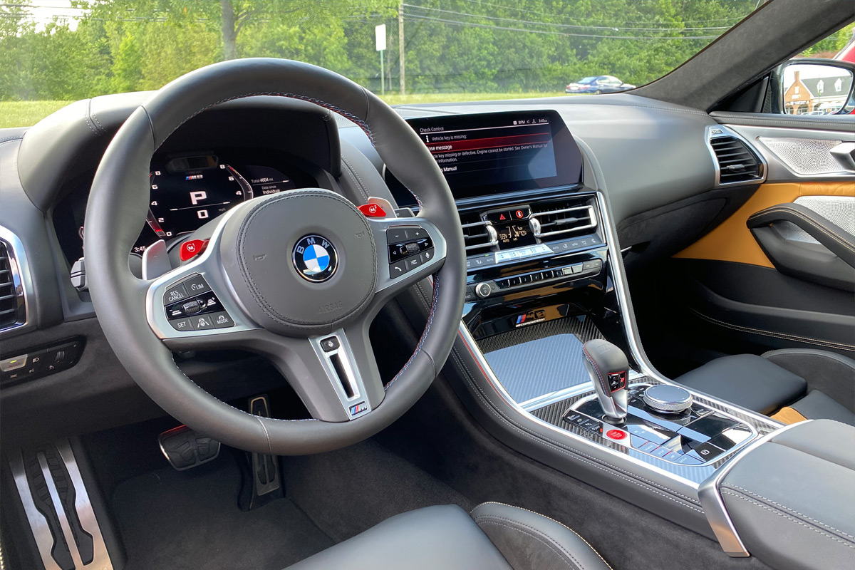 2020 BMW M8 Competition Coupe - Interior